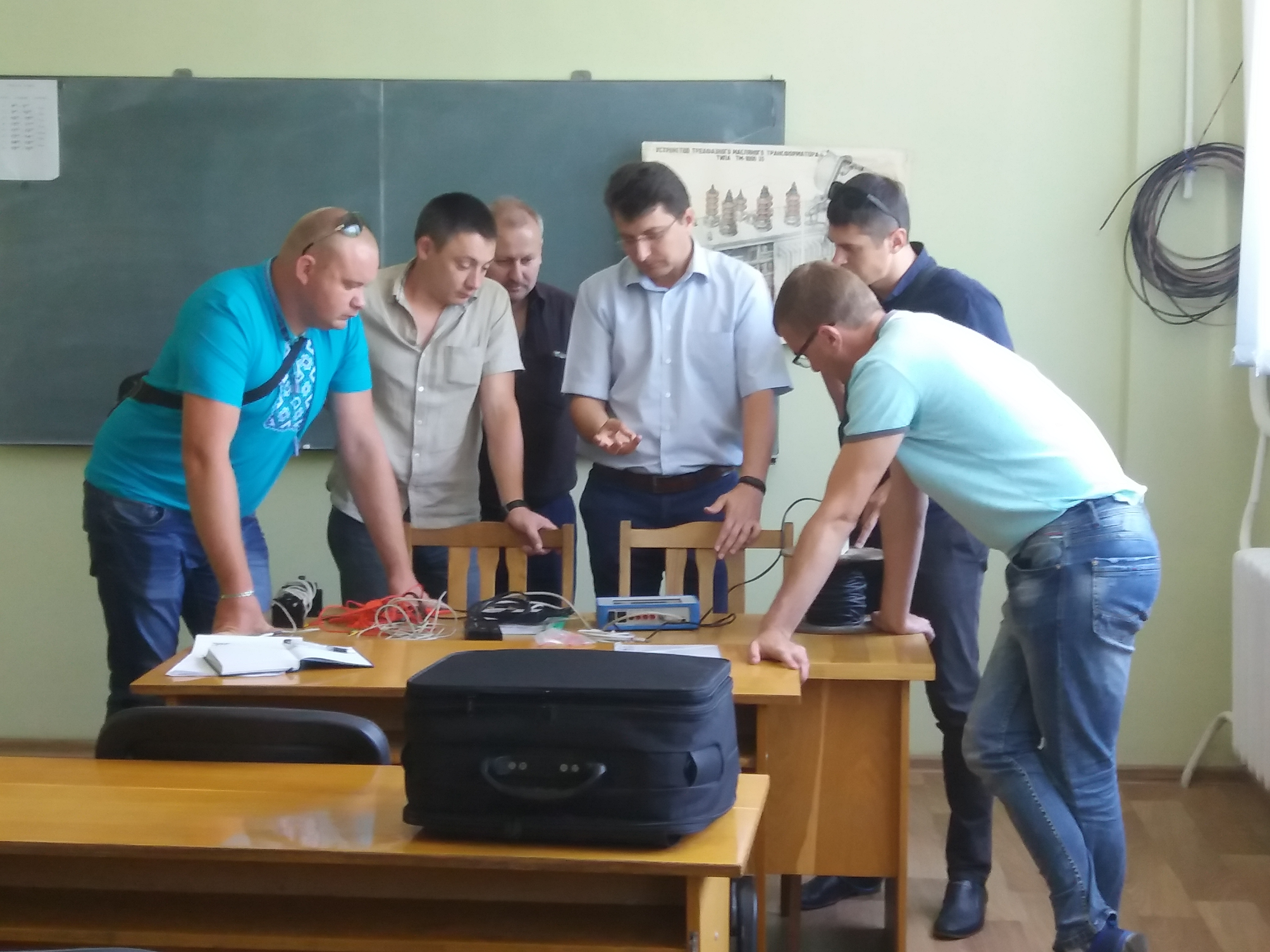 Сотрудники ПАО «Волыньоблэнерго»